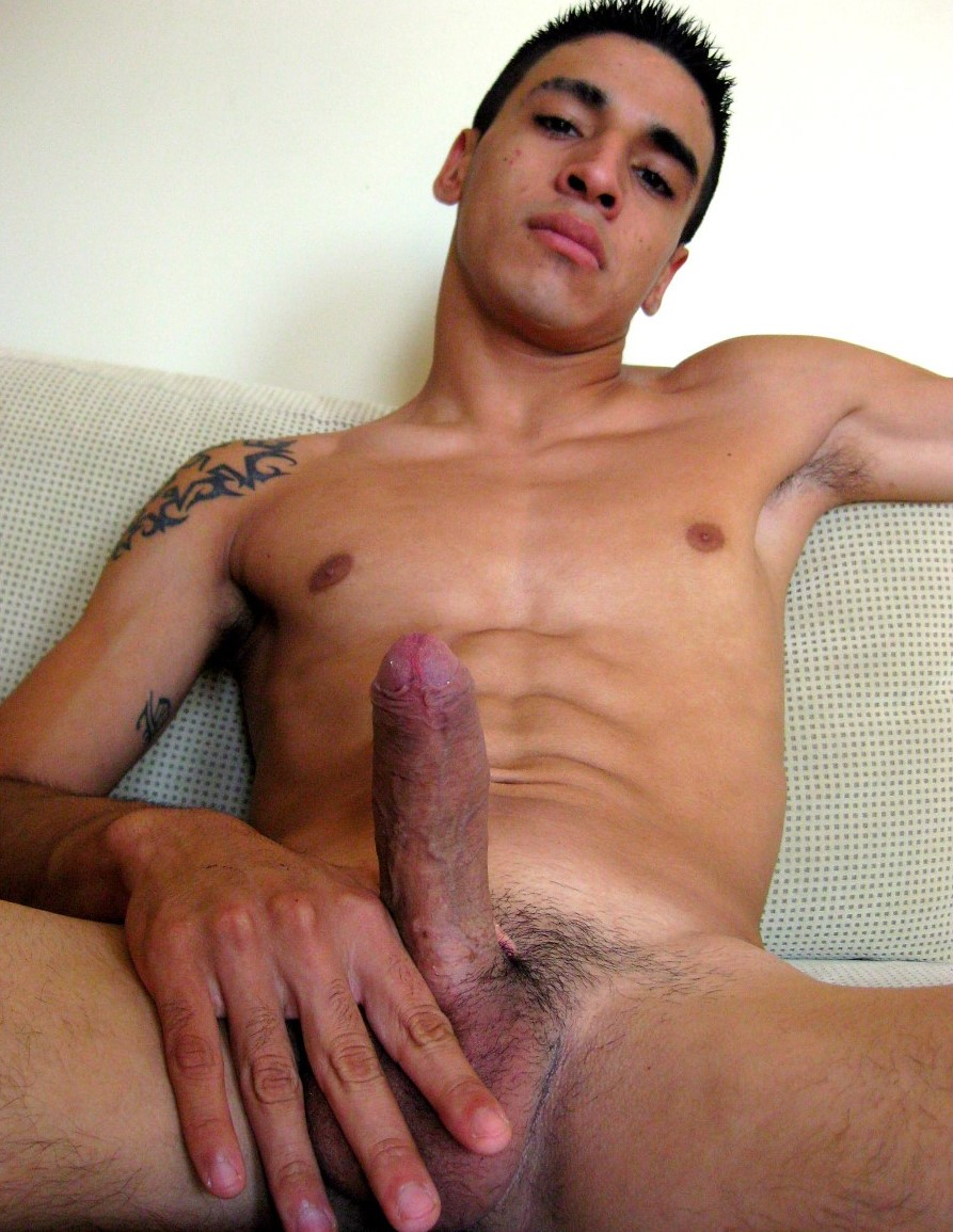 Latino man naked young