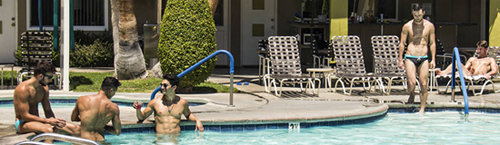 INNdulge - Palm Springs Gay Resort Hotel<br/>Join Us! NAKED ARTISTS & FRIENDS WEEKEND on Sept 29 - Oct 1, 2017